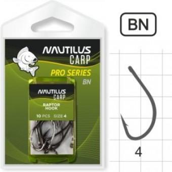 Крючок Nautilus Pro Series Raptor Hook BN #4