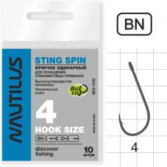 Крючок Nautilus Sting Spin SSS-1010BN № 4
