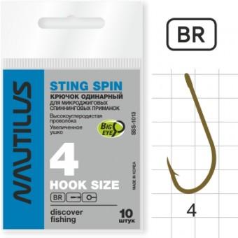Крючок Nautilus Sting Spin SSS-1013BR  № 4