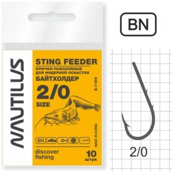 Крючок Nautilus Sting Байтхолдер S-1109BN №2/0
