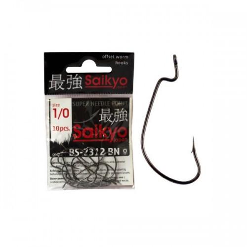 Крючок офсетный Saikyo BS-2312BN-1/0