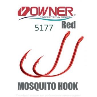 ТК Крючки одинарные QWNER 5177-073-04 RED