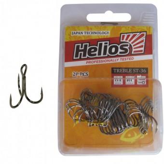 Крючок тройной HELIOS HS-ST-36-10