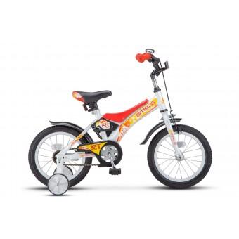 """Велосипед 14"""" Stels Jet Белый/красный"""