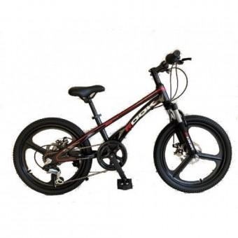 """Велосипед 20"""" ROOK MD-220 (МАГНИЕВАЯ рама, ЛИТЫЕ диски) (DISK) (7-ск.) черный"""
