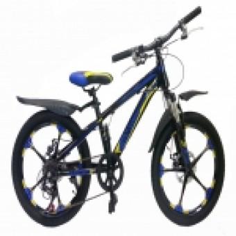 "Велосипед 20"" MAKS RICH MD  (ЛИТЫЕ ДИСКИ) (6-ск.) (рама 11.5) синий"