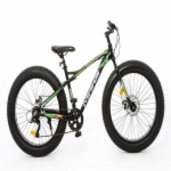 """Велосипед 26"""" MAKS BIG MD (7-ск.) (рама 18) черный/оранжевый"""