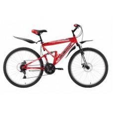 """Велосипед Challenger Desperado Lux 20"""" (красно - черный)"""