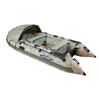 Лодка GLADIATOR C330DP цифровой камуфляж
