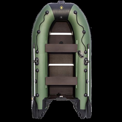 Лодка РИВЬЕРА-3600 НДНД зелёная