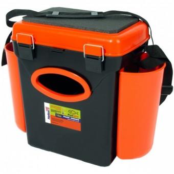 Ящик зимний односекционный Helios FishBox 10л оран