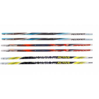 Лыжи пласт. 205см (ассорт)