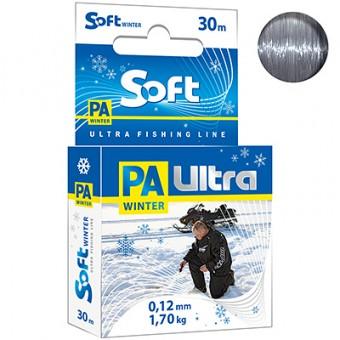 Леска зимняя Ultra PA 30м 0,12мм