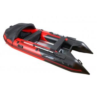 Лодка GLADIATOR C330AL красно-чёрный
