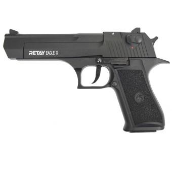 Пистолет охолощенный EAGLE XU черный