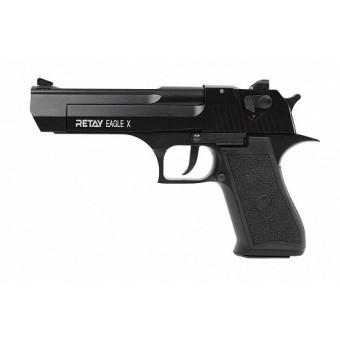 Пистолет охолощенный EAGLE X черный