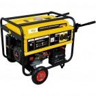 МИ Генератор бензиновый GE 4500Е, 4,5 кВт, 220В/50Гц, 25 л, электростартер DENZEL 94683