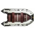 РИВЬЕРА 3600 СК Премиум (складная слань+ киль) (комби черный светло-серый)