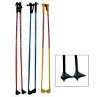 Палки лыжные 145см БИЙСК (стеклопластик)