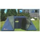 MSK Палатка кемпинговая двухкомнатная 4 местная LANYU LY-1699, проклеенная (450х220х180 см)