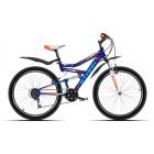 """Велосипед Stark 16"""" Striky (сине-оранжевый)"""