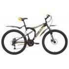 """Велосипед Black ONE Totem 20"""" (черно - желтый)"""