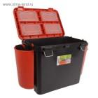 Ящик зимний Helios FishBox 19л оранж